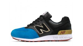 New Balance 576 Blue Black White черные синие