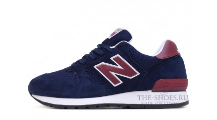 New Balance 670 Dark Blue Burgundy White