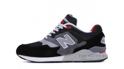 878 КРОССОВКИ МУЖСКИЕ<br/> NEW BALANCE 878 BLACK TWIN GREY WHITE