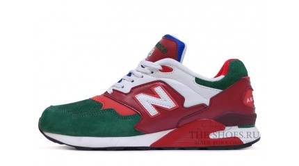 New Balance 878 Green Twin Red White
