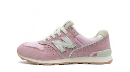 New Balance 996 Baby Pink White Gray светло-розовые