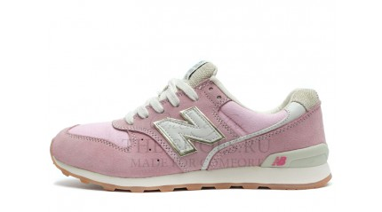 New Balance 996 Baby Pink White Gray