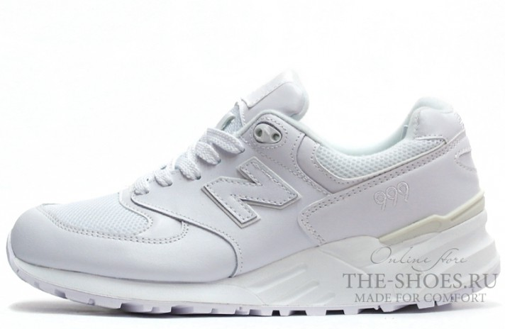 Кроссовки New Balance 999 Pure White
