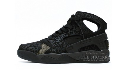 Huarache КРОССОВКИ МУЖСКИЕ<br/> NIKE AIR HUARACHE FLIGHT STREET BLACK