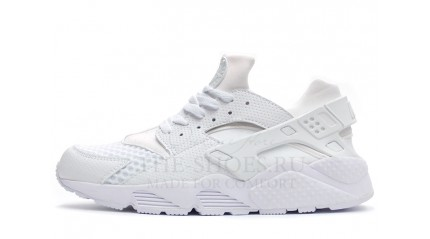 Huarache КРОССОВКИ МУЖСКИЕ<br/> NIKE AIR HUARACHE PURE WHITE GRID