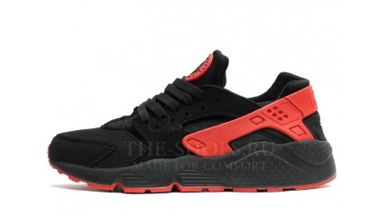Nike Air Huarache Love Hate Twin Black Red