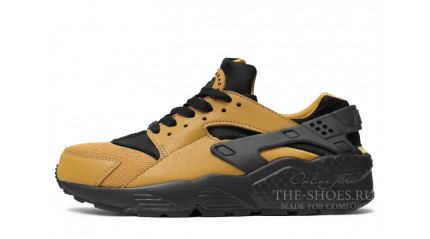 Huarache КРОССОВКИ МУЖСКИЕ<br/> NIKE AIR HUARACHE GOLD YELLOW BLACK