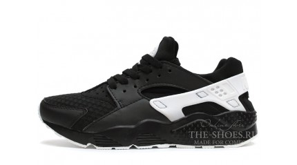 Huarache КРОССОВКИ МУЖСКИЕ<br/> NIKE AIR HUARACHE BLACK WHITE GRID