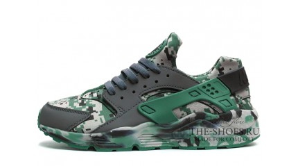 Huarache КРОССОВКИ МУЖСКИЕ<br/> NIKE AIR HUARACHE ARMY CAMO GREEN