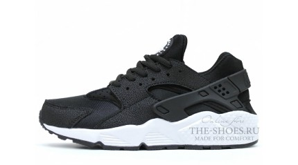 Huarache КРОССОВКИ МУЖСКИЕ<br/> NIKE AIR HUARACHE SAFARI BLACK WHITE