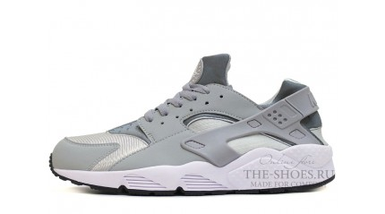 Huarache КРОССОВКИ МУЖСКИЕ<br/> NIKE AIR HUARACHE WOLF GREY WHITE