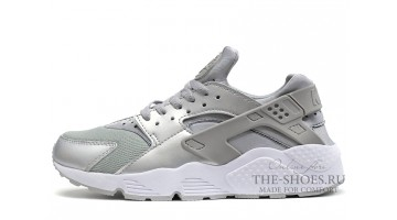 Кроссовки Мужские Nike Air Huarache Metallic Silver Gray