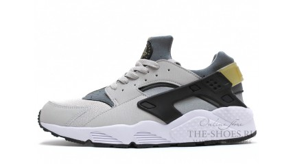 Huarache КРОССОВКИ МУЖСКИЕ<br/> NIKE AIR HUARACHE LIGHT ASH GREY WHITE