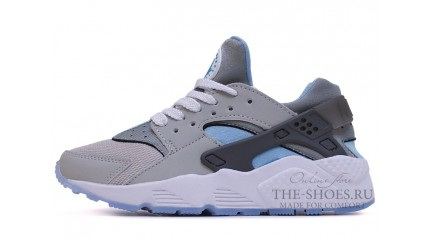 Nike Air Huarache Twin Grey White Blue