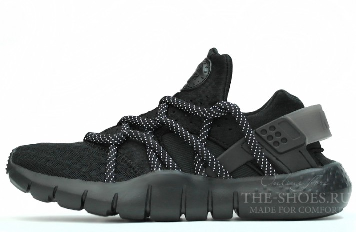 7b34f888 Купить Nike Air Huarache NM Black Full - черные
