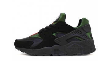 Кроссовки Мужские Nike Air Huarache Gucci Edition Black