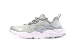 Nike Air Huarache Ultra Run Grey White серые