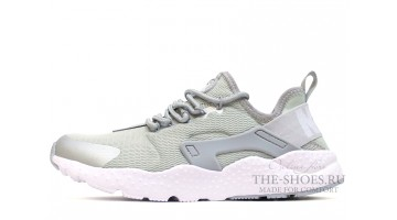 Кроссовки Мужские Nike Air Huarache Ultra Grey White