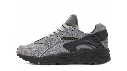 Huarache КРОССОВКИ МУЖСКИЕ<br/> NIKE AIR HUARACHE SIN CITY GRAY BLACK