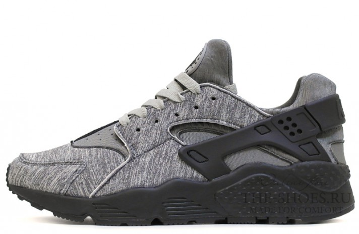 Кроссовки Nike Air Huarache Sin City Gray Black