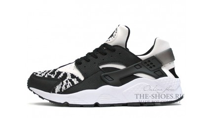Huarache КРОССОВКИ МУЖСКИЕ<br/> NIKE AIR HUARACHE WOVEN BLACK WHITE