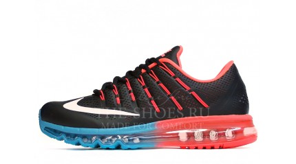 Air Max 2017 КРОССОВКИ МУЖСКИЕ<br/> NIKE AIR MAX 2016 GYM RED BLUE LEATHER