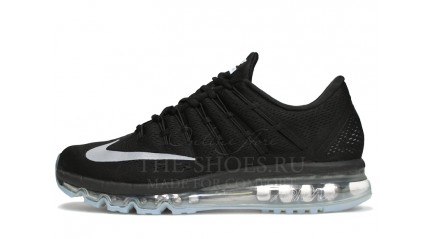 Air Max 2017 КРОССОВКИ МУЖСКИЕ<br/> NIKE AIR MAX 2016 BLACK GREY WHITE GLASS