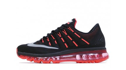 Air Max 2017 КРОССОВКИ МУЖСКИЕ<br/> NIKE AIR MAX 2016 ATOMIC RED BLACK