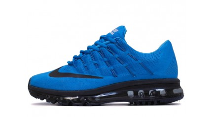 Air Max 2017 КРОССОВКИ МУЖСКИЕ<br/> NIKE AIR MAX 2016 BLUE LAGOON BLACK