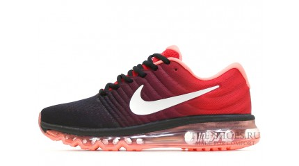 Air Max 2017 КРОССОВКИ МУЖСКИЕ<br/> NIKE AIR MAX 2017 RED CRIMSON BLACK