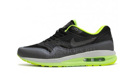 Nike Air Max 87 Lunarlon Black Grey Acid Lime