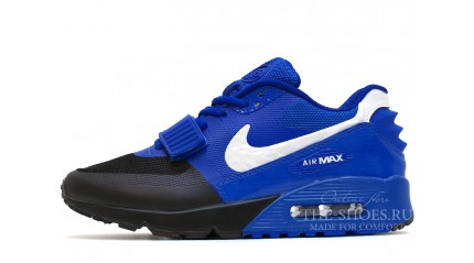 Air Max 90 КРОССОВКИ МУЖСКИЕ<br/> NIKE AIR MAX 90 YEEZY BRIGHT BLUE BLACK