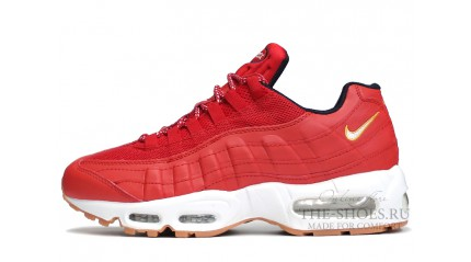 Air Max 95 КРОССОВКИ МУЖСКИЕ<br/> NIKE AIR MAX 95 RED 4TH OF JULY