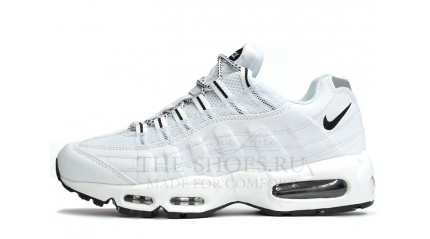 Air Max 95 КРОССОВКИ МУЖСКИЕ<br/> NIKE AIR MAX 95 PURE WHITE LEATHER