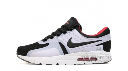 Air Max Zero КРОССОВКИ МУЖСКИЕ<br/> NIKE AIR MAX ZERO DARK GREY BLACK WHITE