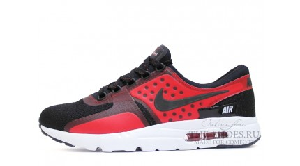 Air Max Zero КРОССОВКИ МУЖСКИЕ<br/> NIKE AIR MAX ZERO BLACK RED WHITE