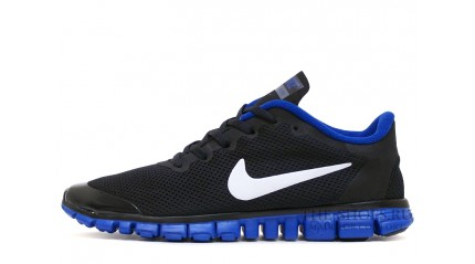 Free Run КРОССОВКИ МУЖСКИЕ<br/> NIKE FREE RUN 3.0 V2 BLACK ACID BLUE