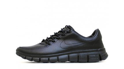 Free Run КРОССОВКИ MУЖСКИЕ<br/> NIKE FREE RUN 5.0 BLACK TOP LEATHER
