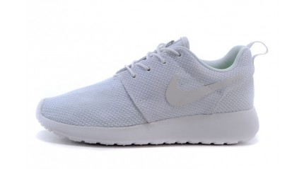 Roshe Run КРОССОВКИ МУЖСКИЕ<br/> NIKE ROSHE RUN PURE WHITE
