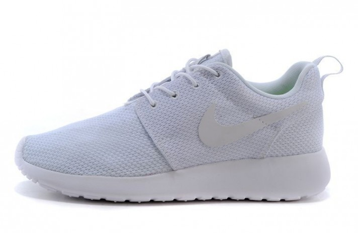 Nike Roshe Run Pure White белые