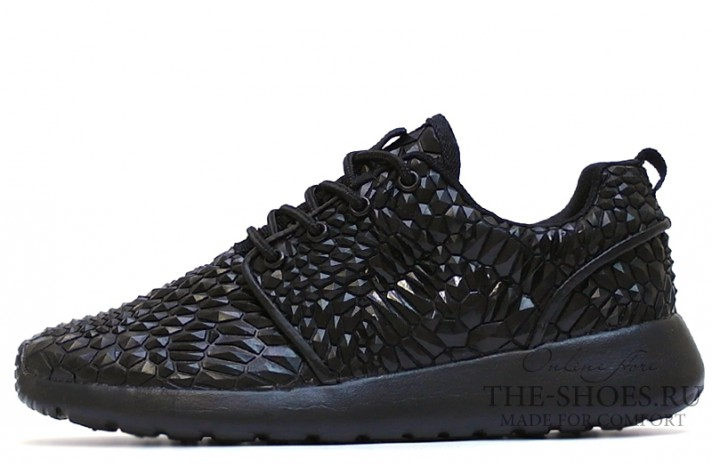 Nike Roshe Run Diamond Black черные
