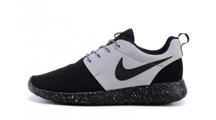Roshe Run КРОССОВКИ МУЖСКИЕ<br/> NIKE ROSHE RUN ID TWIN BLACK WHITE OREO