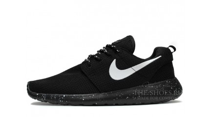 Roshe Run КРОССОВКИ ЖЕНСКИЕ<br/> NIKE ROSHE RUN DUAL BLACK OREO WHITE