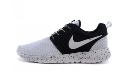 Roshe Run КРОССОВКИ МУЖСКИЕ<br/> NIKE ROSHE RUN ID TWIN WHITE BLACK OREO