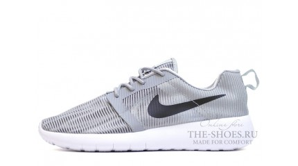 Nike Roshe Run Flight Weight Grey White