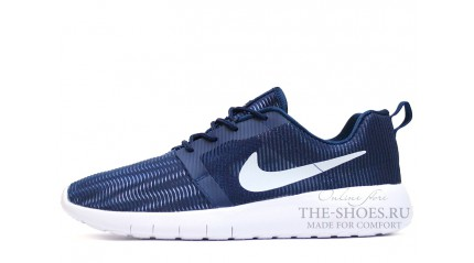 Nike Roshe Run Flight Weight Blue White