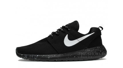 Roshe Run КРОССОВКИ МУЖСКИЕ<br/> NIKE ROSHE RUN TWIN BLACK OREO WHITE