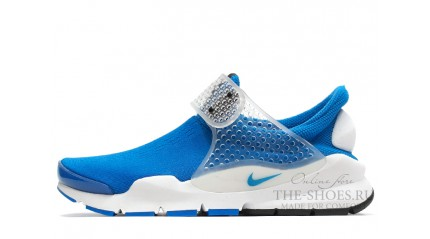 Sock Dart КРОССОВКИ МУЖСКИЕ<br/> NIKE SOCK DART SP BLUE WHITE