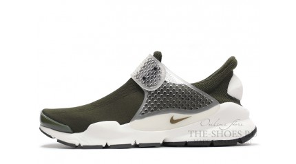 Sock Dart КРОССОВКИ МУЖСКИЕ<br/> NIKE SOCK DART SP GREEN WHITE