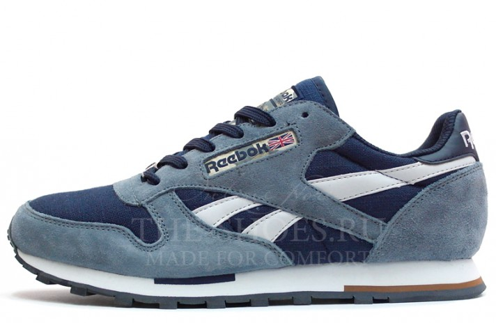 Reebok Classic Сold Blue White синие, фото 1